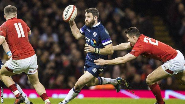 Scotland's last visit to Cardiff was a sobering 34-7 defeat in this year's Six Nations opener