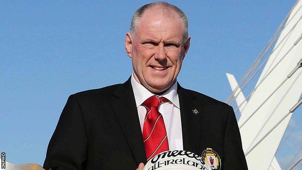 Brian McAvoy was appointed Ulster GAA secretary and chief executive officer in October 2016