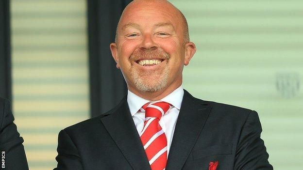 One of Frank McParland's former jobs was as the Academy director at Liverpool