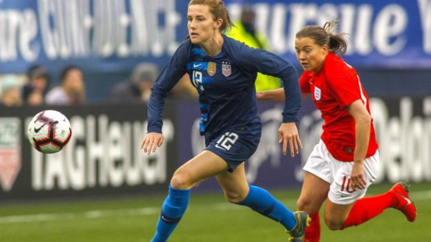 SheBelieves Cup: USA women 2-2 England women thumbnail