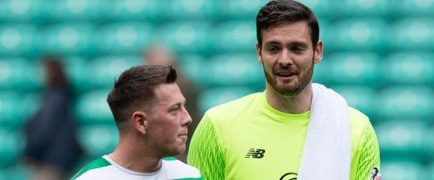 Callum McGregor and Craig Gordon