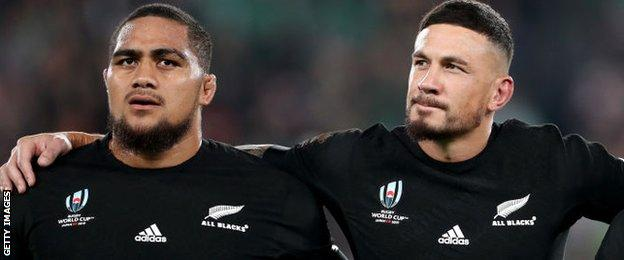 Ofa Tuungafasi, Sonny Bill Williams