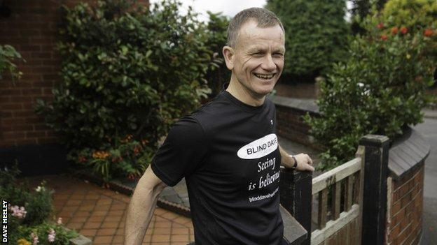 London Marathon 2019: Dave Heeley