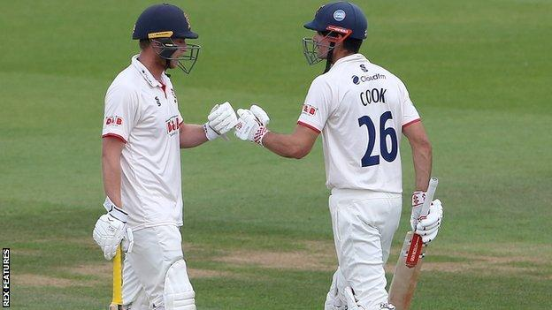 The 69th first-class century of Alastair Cook's career was his second of the season, his 26th for Essex and his fifth at The Oval