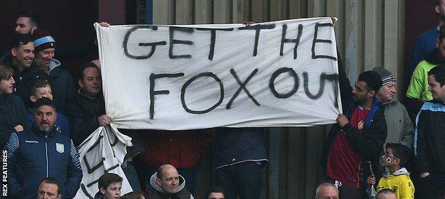 Fox banner