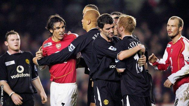 Arsenal and Manchester United finished a distant second and third to Jose Mourinho's Chelsea in 2004-05