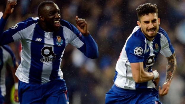 65491d19156be Porto 3-1 Roma (agg: 4-3): Extra-time winner sends Porto through - BBC Sport