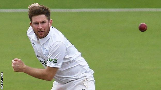 Hampshire's Liam Dawson