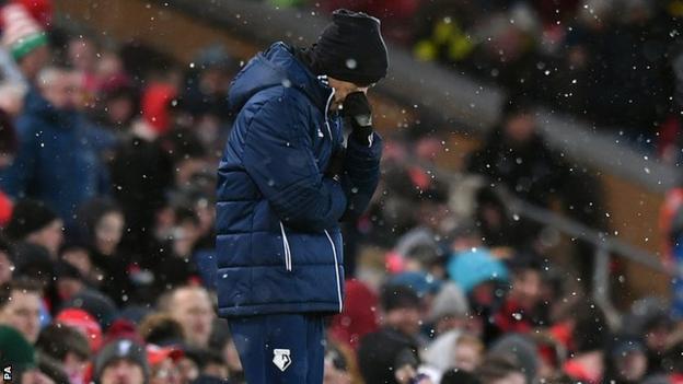 Watford manager Javi Gracia