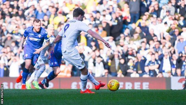 Patrick Bamford scored the first goal for Leeds