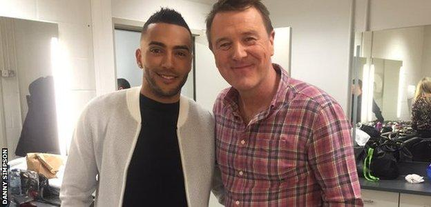 Danny Simpson and Phil Tufnell