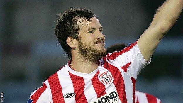 Ryan McBride misses the visit of Drogheda United through suspension