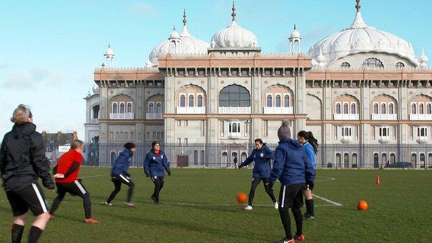 Guru Nanak Ladies who competed in the 2019 FA People's Cup first round