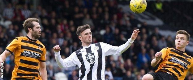 Alloa and St Mirren meet on Saturday, with new managers at the helm