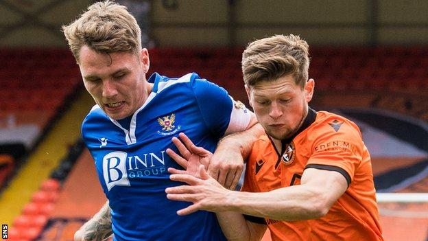 St Johnstone drew 1-1 away to Dundee United on the Premiership's opening day this season