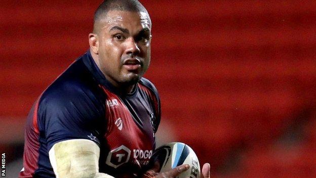 Bristol and England prop Kyle Sinckler