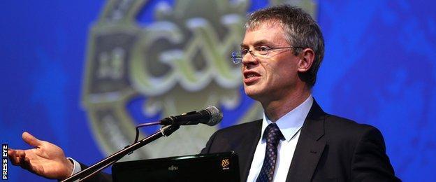 Former Derry GAA star Joe Brolly is a barrister