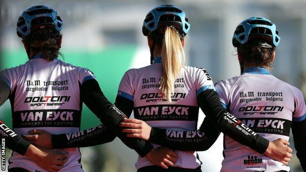 Image générique du coureur de l'équipe Doltcini-Van Eyck
