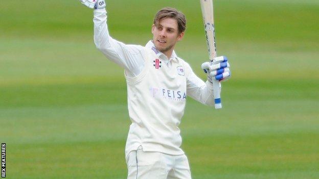 Gloucestershire batsman Chris Dent
