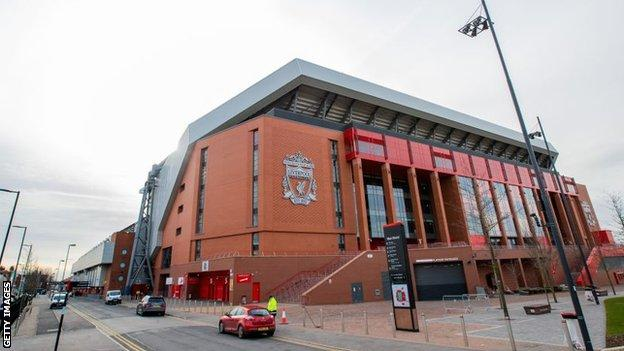 Liverpool's Main Stand