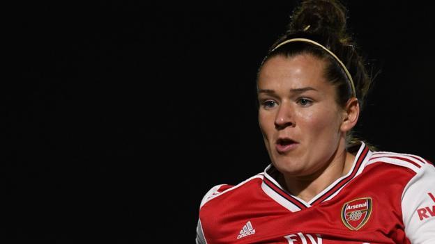 Emma Mitchell: Tottenham Hotspur sign Scotland international on loan from Arsenal thumbnail