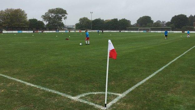 Poole Town's Tatnam Recreation Ground