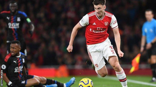 Tierney has made five appearances for Arsenal since his debut on 24 September