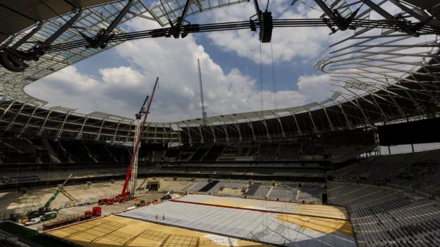 Tottenham apologise to fans and say stadium delay 'unavoidable' thumbnail