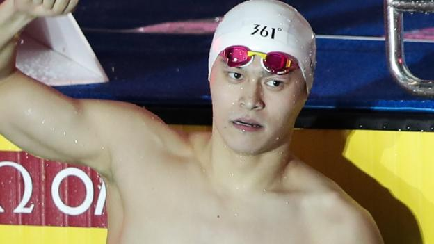 Sun Yang: Eight-year ban for Chinese Olympic champion