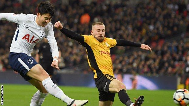 Spurs see off League Two Newport at Wembley - highlights & report