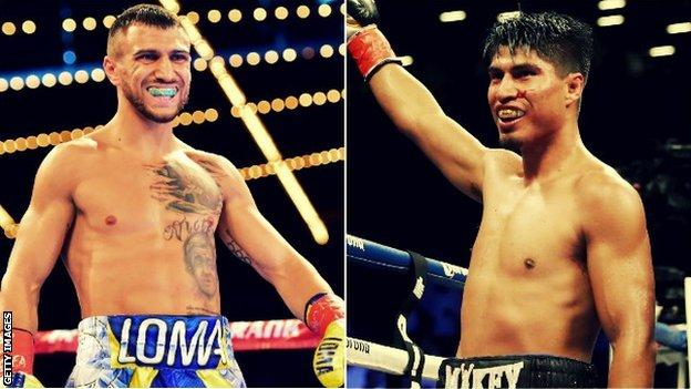 Lomachenko versus Mikey Garcia is a bout Costello feels would be special in boxing