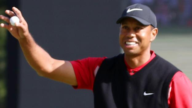 Tiger Woods wins 82nd PGA Tour title to equal record thumbnail