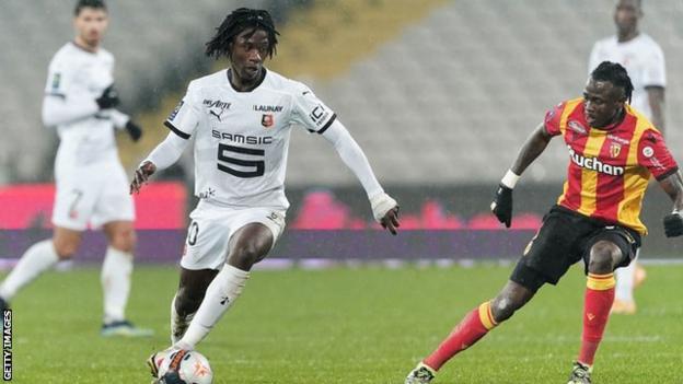 Rennes' Eduardo Camavinga