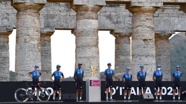 NTT Pro Cycling at the Giro d'Italia