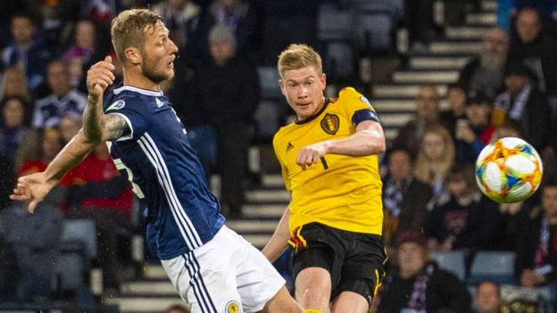 Scotland 0-4 Belgium: Brutal defeat all but ends group hopes for Steve Clarke's side thumbnail