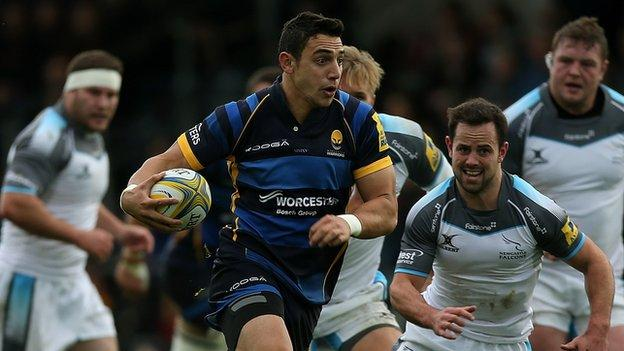 Bryce Heem has arrived at Sixways after helping Auckland reach the ITM Premiership Cup final down under