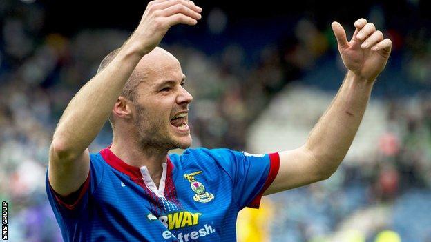 Inverness CT defender David Raven