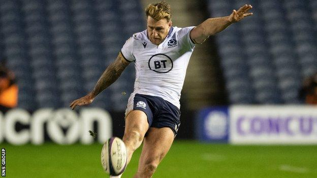 Stuart Hogg's missed touch in overtime cost Scotland a chance to snatch a draw