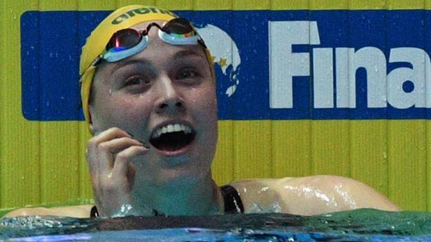 Atherton sets world record, Peaty shines as London Roar win ISL in Budapest - BBC News