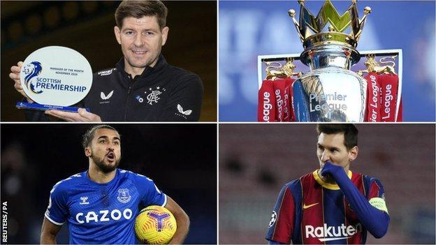 Steven Gerrard, Premier League trophy, Dominic Calvert-Lewin, Lionel Messu