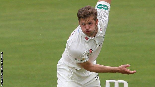 Craig Meschede in action for Glamorgan
