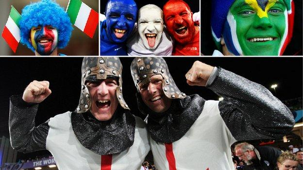Rugby World Cup fans
