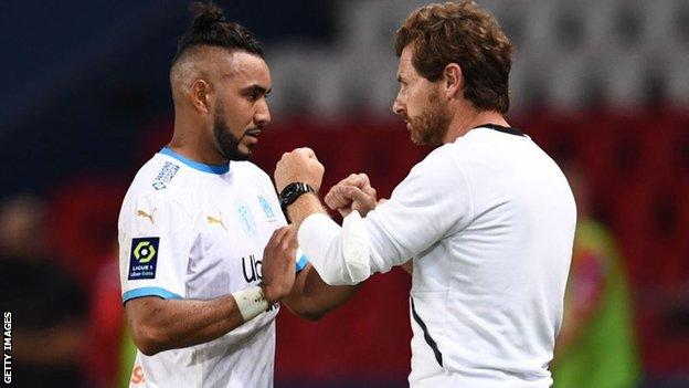 Dimitri Payet and Andre Villas-Boas