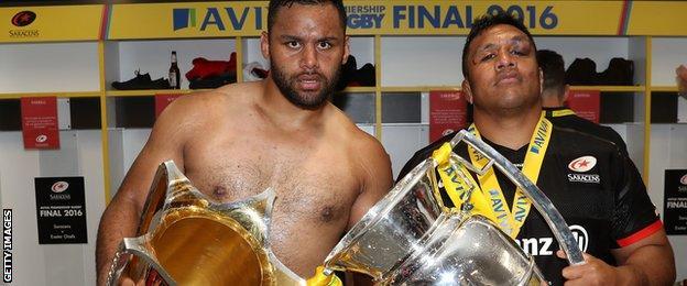 Billy Vunipola and Mako Vunipola