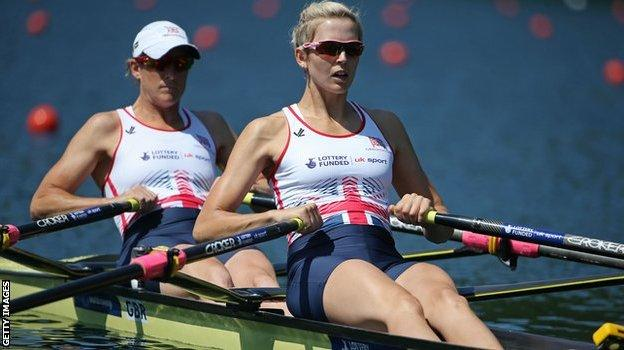 Katherine Grainger and Vicky Thornley