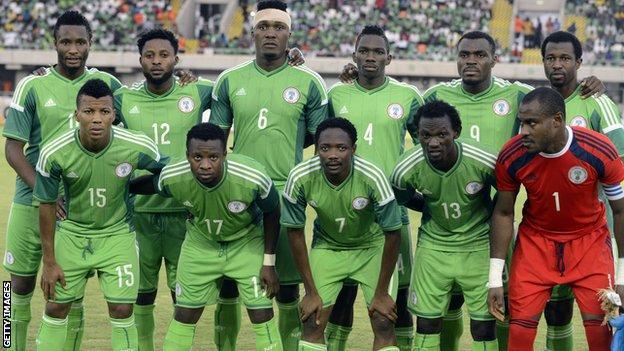 Nigeria team