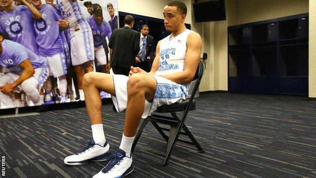 Brice Johnson contemplates defeat