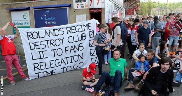 Charlton fans