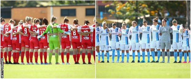 Melbourne City and Adelaide