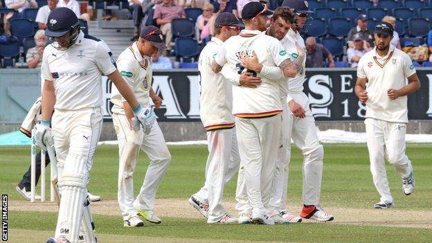 Durham celebrate